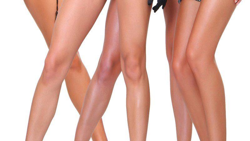Ogolone nogi kobiet
