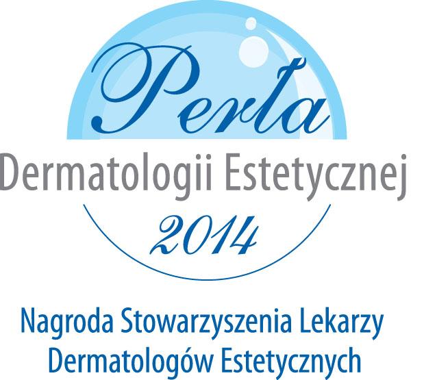 Dermatologia estetyczna 2014 - nagroda